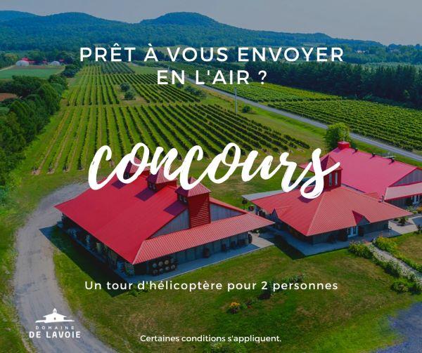 Concours Gagnez Un Tour D'hélicoptère Pour 2 Personnes Pour Voir Les Magnifiques Couleurs De Rougemont !