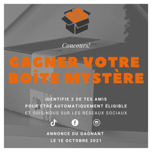 Concours Gagnez Une Boîte Mystère D