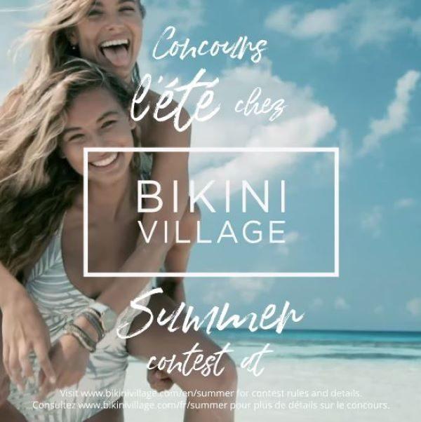 Concours Gagnez Une Carte Cadeau Bikini Village D'une Valeur De 1000$!