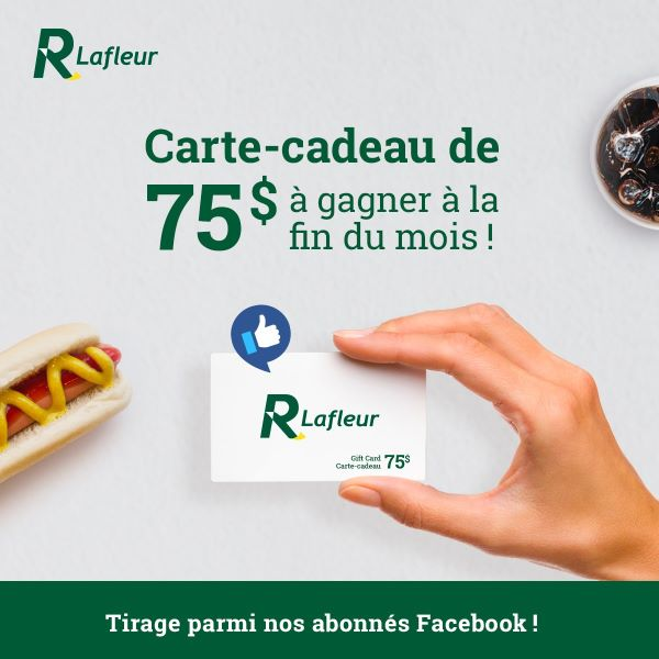 Concours Gagnez Une Carte Cadeau De 75$ Chez Les Restaurants Lafleur!