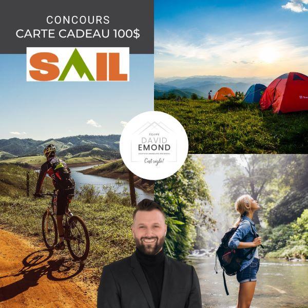 Concours Gagnez Une Carte Cadeau D'une Valeur De 100$ Chez Sail!