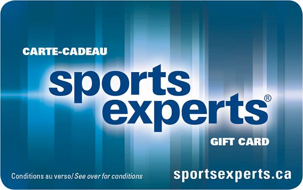 Concours Gagnez Une Carte Cadeau D'une Valeur De 100 $ Chez Sports Experts!
