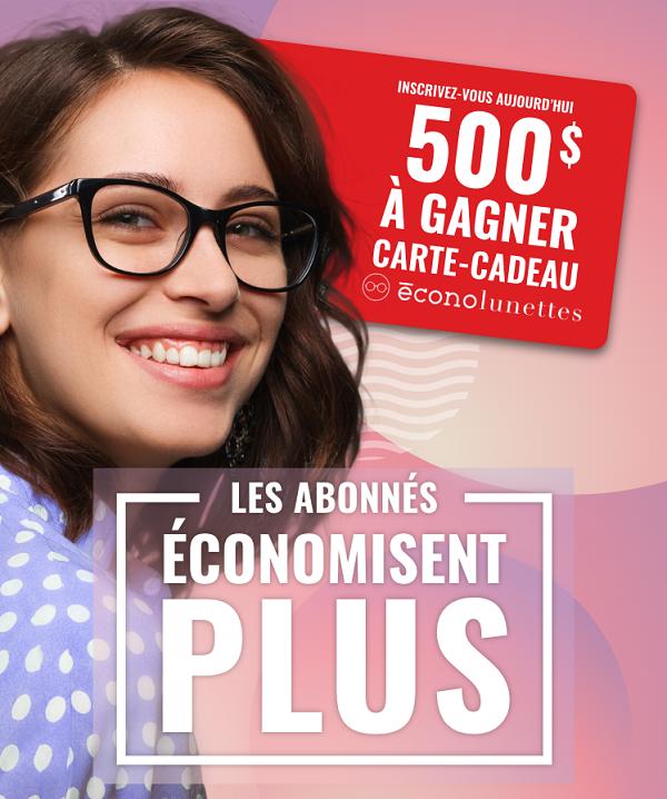 Concours Gagnez Une Carte Cadeau Econolunettes D