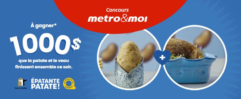 Concours Gagnez Une Des 2 Cartes Cadeaux Métro De 1000$!
