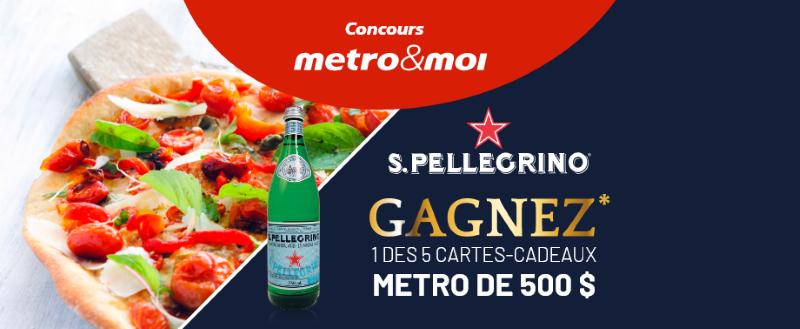 Concours Gagnez Une Des 5 Cartes Cadeaux Métro De 500$!