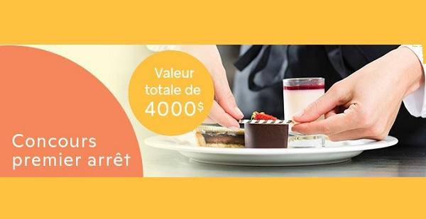 Concours Gagnez Une Des 5 Escapades Gastronomiques Au Québec!