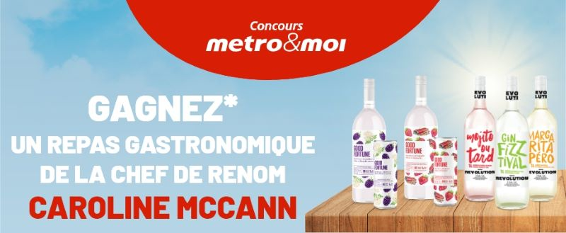 Concours Gagnez Une Expérience Avec La Chef De Renom Caroline Mccann Dans Sa Cour D'une Valeur De 5 000$!