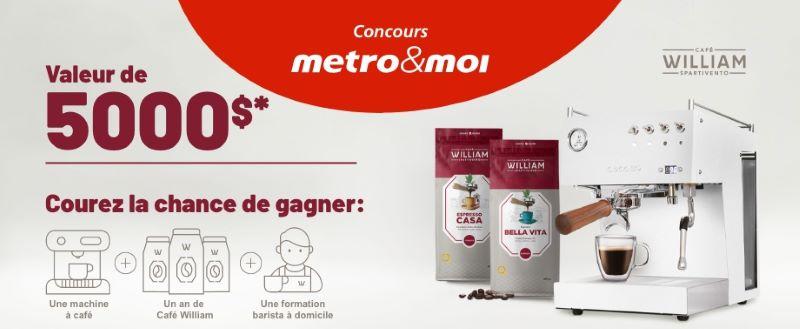 Concours Gagnez Une Machine à Café Et Un An De Café William!