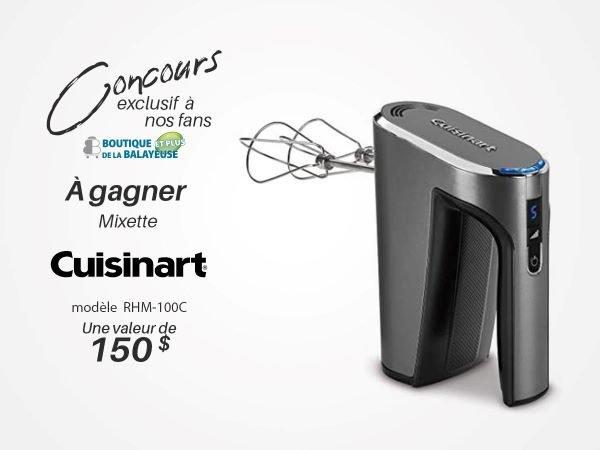 Concours Gagnez Une Mixette De La Marque Cuisinart D