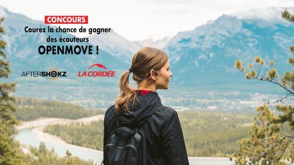 Concours Gagnez Une Paire D'écouteurs Openmove!