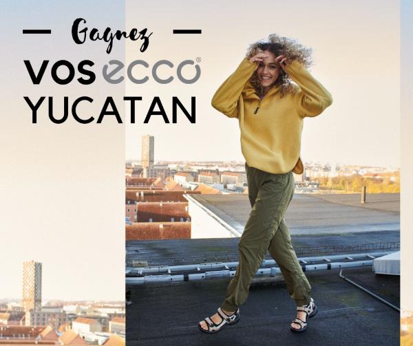 Concours Gagnez Une Paire Des Confortables Sandales Ecco Shoes Yucatan!