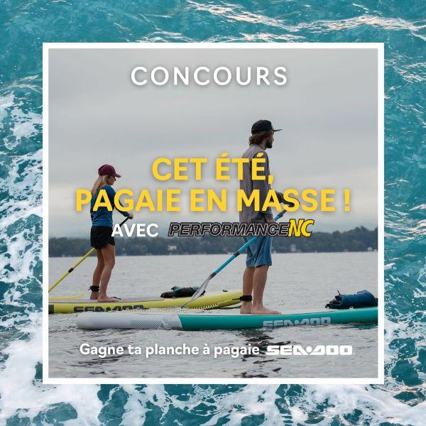 Concours Gagnez Une Planche à Pagaie Sea Doo Gonflable Agua De 3.5 Mètres!