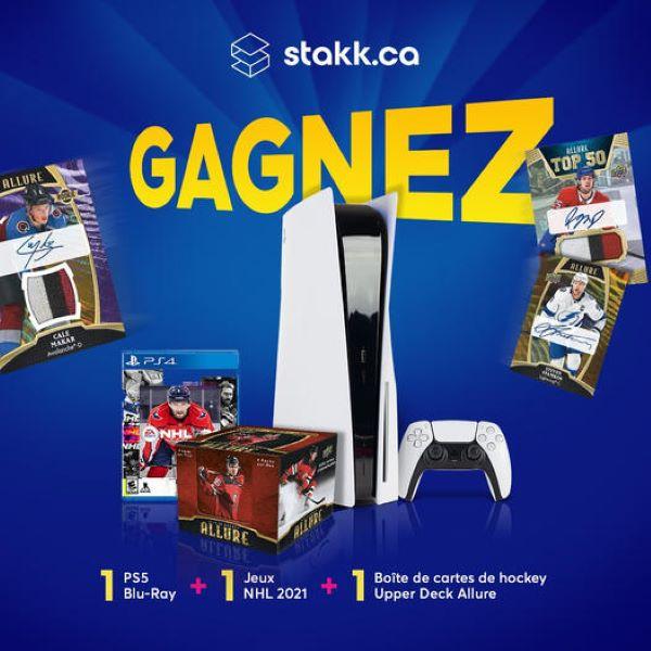 Concours Gagnez Une Ps5 Et Plus Encore!