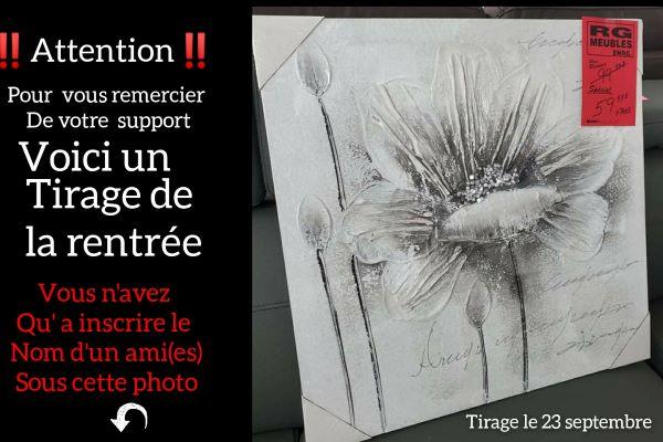 Concours Gagnez Une Toile Offerte Par Rg Meubles!