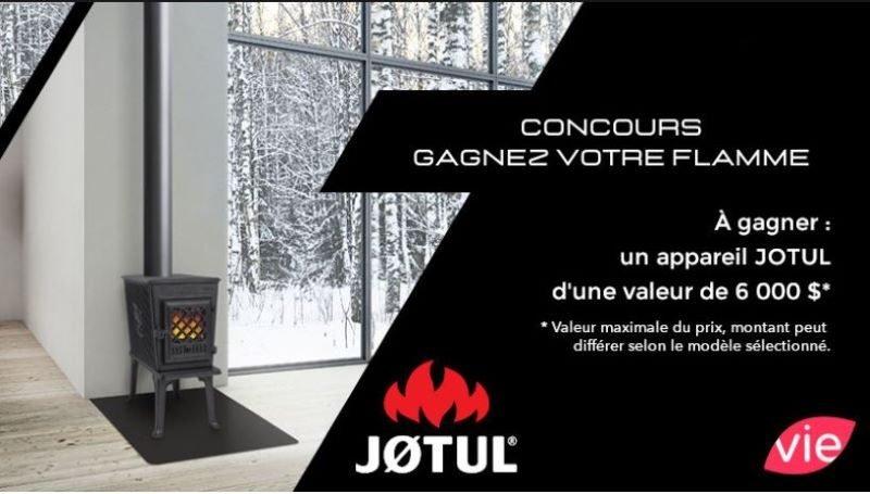 Concours Gagnez Votre Flamme!
