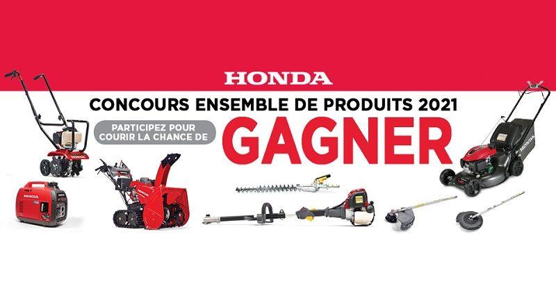 Concours Honda 2021 Ensemble De Produits Mécaniques!