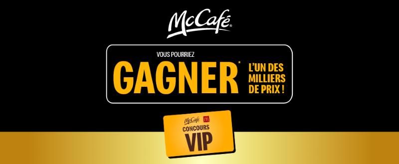 Concours Mccafé!