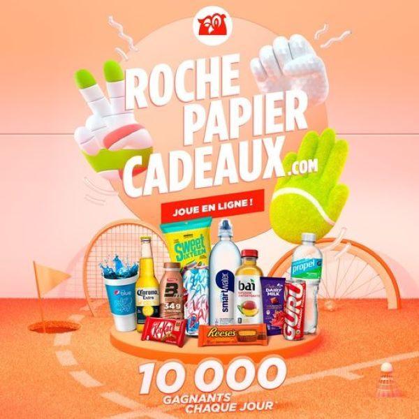Concours Roche Papier Cadeaux