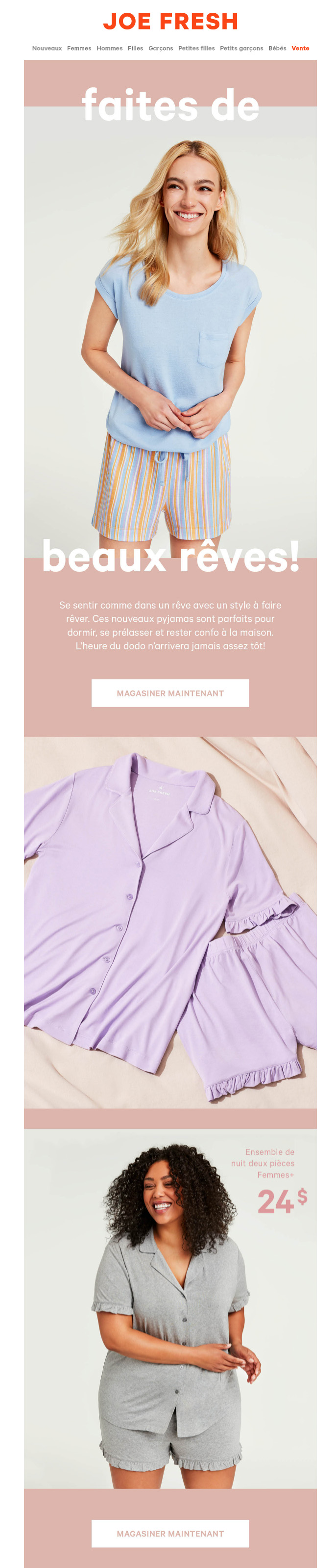 Des Pyjamas Parfaits
