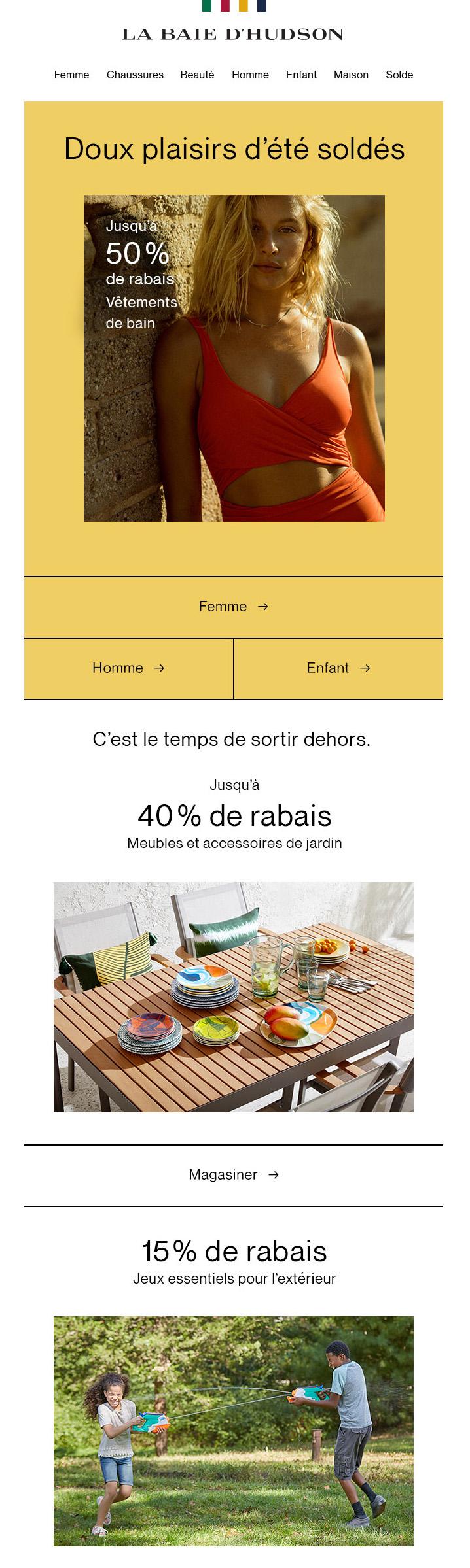 Mangez, Jouez, Nagez Et économisez Sur La Marchandise D