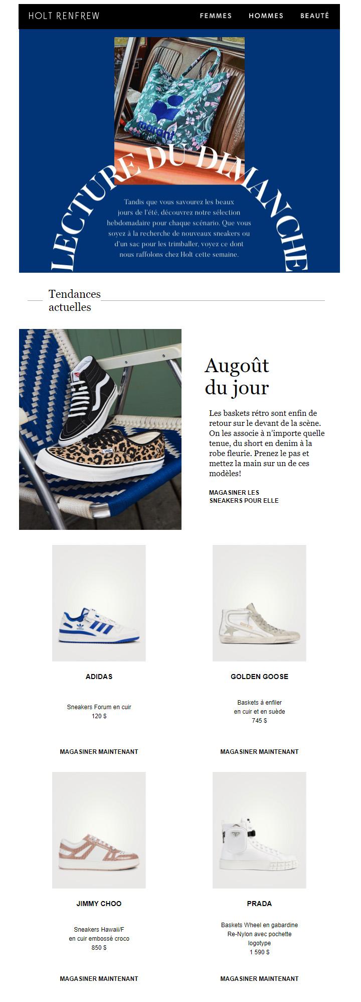 Mise à Jour Hebdomadaire | Chaussures Actualisées, Denim Blanc Et Sacs Durables