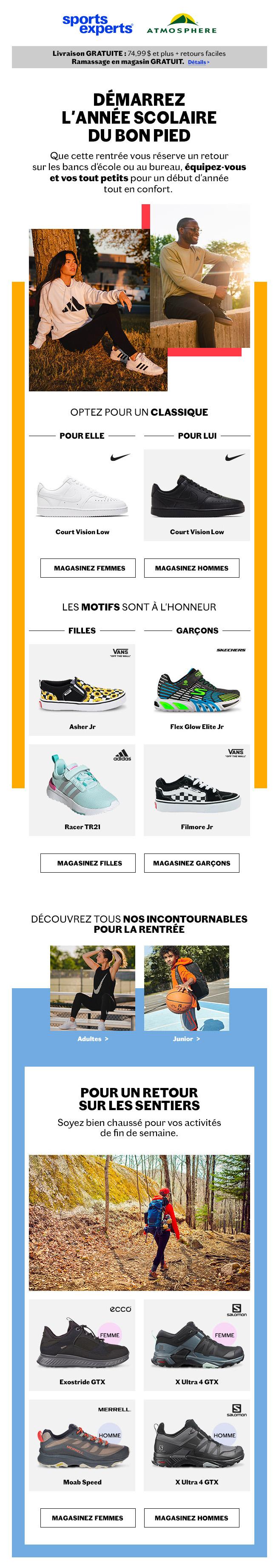 Nouveautés Chaussures Pour Petits Et Grands