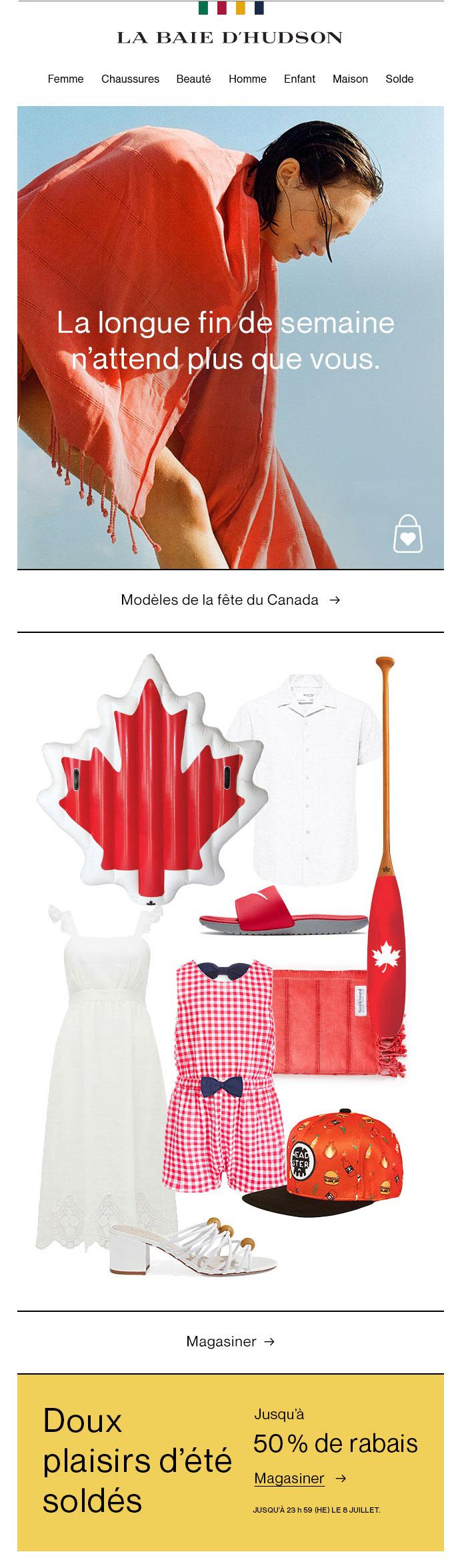 Soyez Prêts Pour La Fête Du Canada!