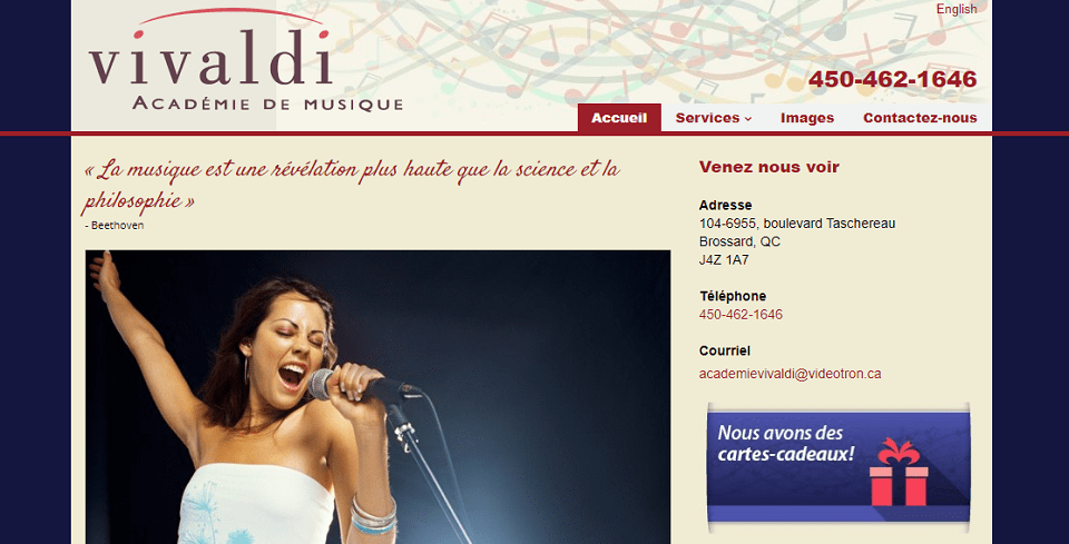 Académie De Musique Vivaldi En Ligne