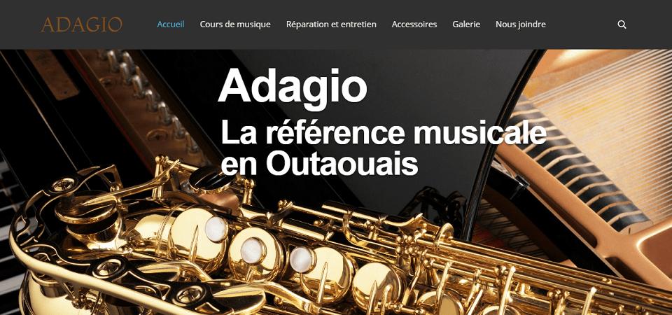 Adagio En Ligne