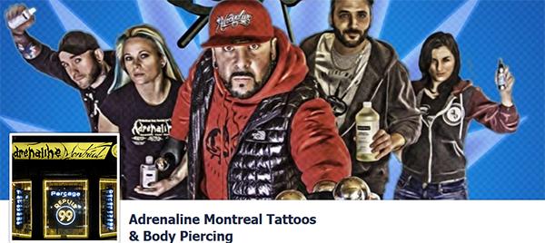 Adrenaline Montreal Tatous En Ligne
