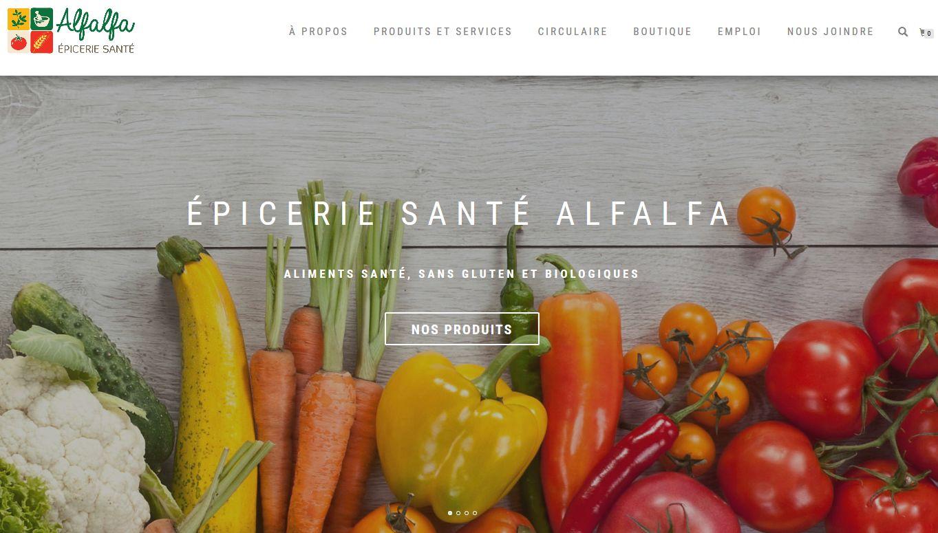 Alfalfa épicerie Santé