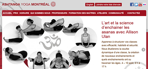 Ashtanga Yoga Montréal En Ligne