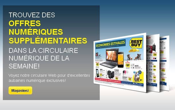 Circulaire Numérique Best Buy