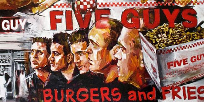 Five Guys   Hamburgers & Frites